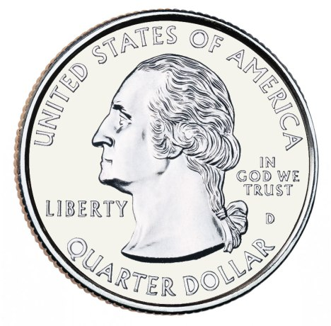 Quarter 25 cent piece