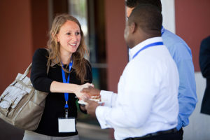 Idelle Kursman Networking Photo