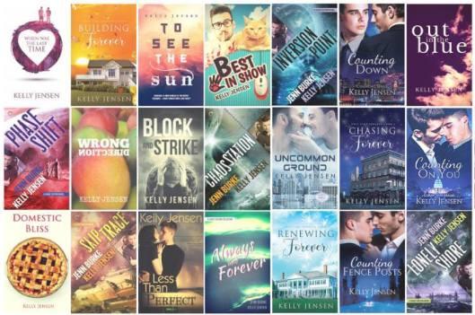Kelly Jensen Books Collage crop